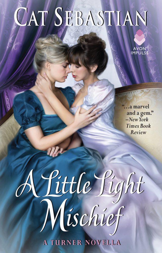 Cover, A Little Light Mischief, Cat Sebastian